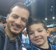 Detroit Lions Game With My Son