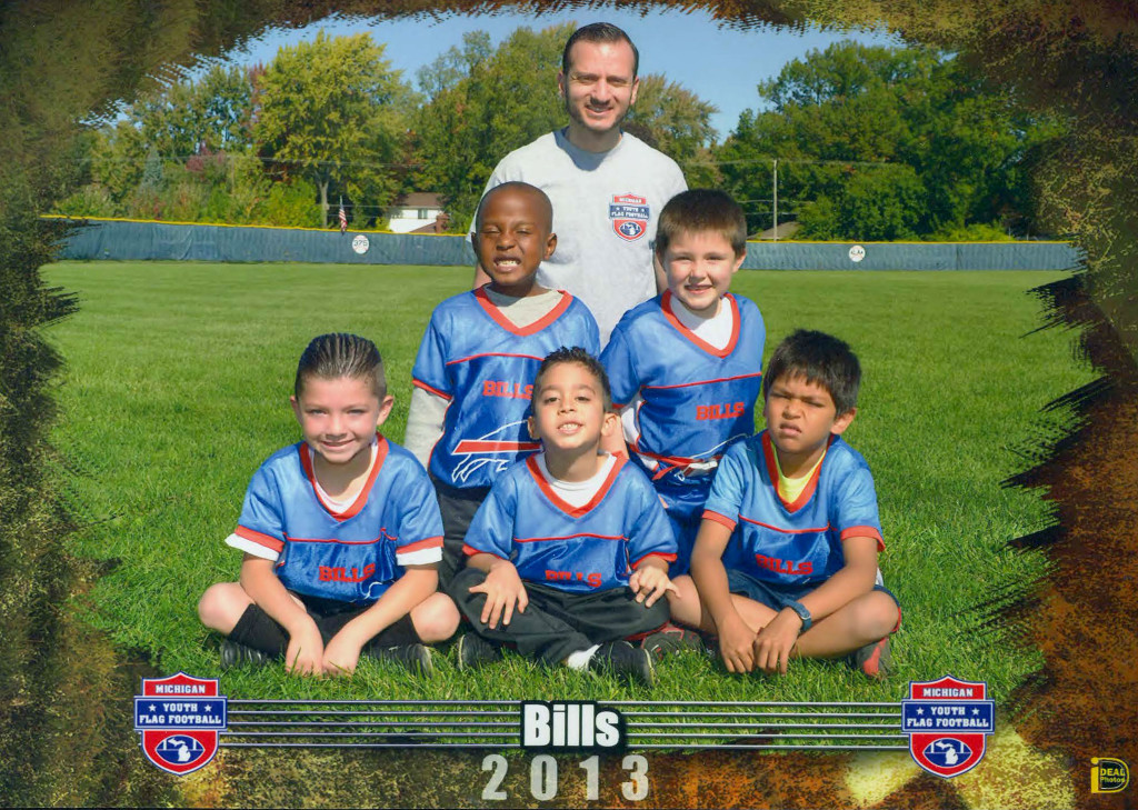 Coaching Bills Kids Football