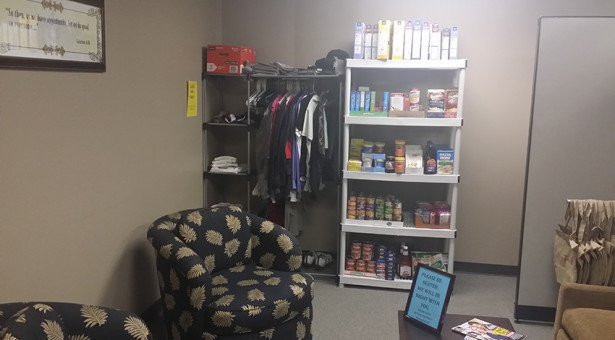 Food Drive And Waiting Room